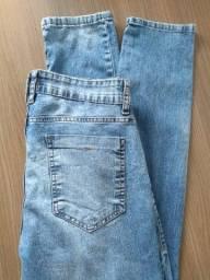 Calça Jeans Azul Clara - Tam 38 - C&A