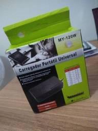 Carregador portátil universal para notebook
