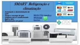 Título do anúncio: Limpeza de ar condicionado ACJ R$ 60,00