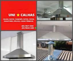 Instalações de Coifas ( UNI Calhas )