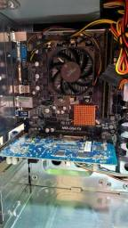 Título do anúncio: CPU Amd FX 6300 4GB Ram Placa de Vídeo HD4670 Wi-Fi