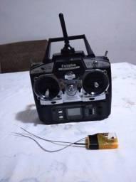 Rádio futaba t6ex aeromodelo