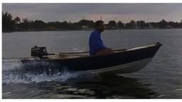 Título do anúncio: barco com motor mercury 5 hp