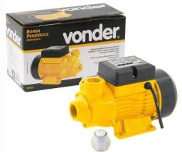 Bomba D`água Periférica 1/2 Cv Bivolt Vonder Novo, garantia e nota fiscal F. 98876.3162