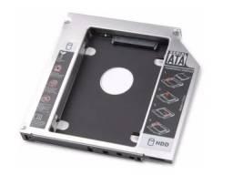 Adaptador para HD de Notebook 9,5mm e 12,7mm