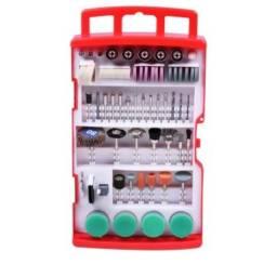 Micro Retífica - Kit Acessórios 198pcs