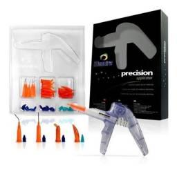 Aplicador odontológico  por pressão