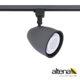 Spot trilho eletrificado lâmpada par 30