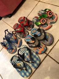 Lote chinelos