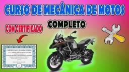 Título do anúncio: Curso Online  De Mecânico De Motos