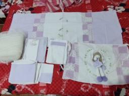 Kit berço e lençóis