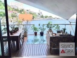 Título do anúncio: Apartamento Duplex com 3 dormitórios à venda, 198 m² por R$ 3.800.000,00 - Comércio - Salv