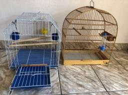 2 Gaiolas para pássaros