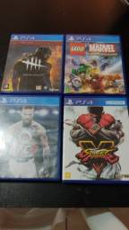 Venda de jogos PS4