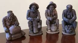Título do anúncio: Esculturas assinado por Etewaldo Santiago década de 70/80 valores variados
