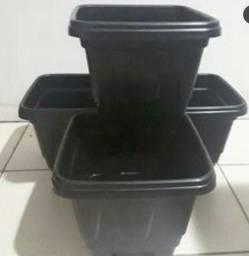 Vaso de plantas kit 4 peças