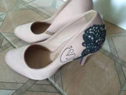 Título do anúncio: Sapato carmen steffens original n34 estado novo valor R$75