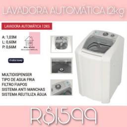 Máquina de lavar branca 12kg colormaq