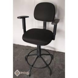 Cadeira para escritório, Caixa - Preto