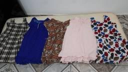 Título do anúncio: 7 vestidos para grávida + camisola maternidade! Tudo por 50