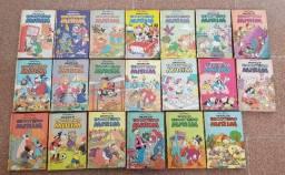 Título do anúncio: Coleção Completa Biblioteca do Escoteiro Mirim 20 Volumes Ano 1985