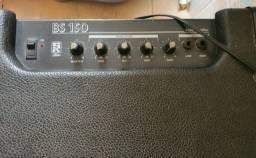 caixa de som com amplificador marca bs150