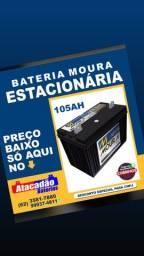 Baterias moura estacionarias e moura nobreak