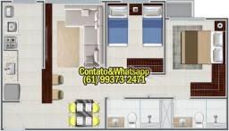 Apartamento em Goiania, 2Q (1Suíte), 55m2, Garagem, Lazer Completo! Parcela.