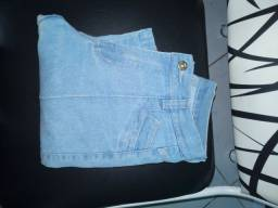 Calça jeans boca de sino