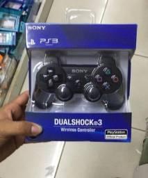 Título do anúncio: Controle PS3 sem fio (NOVO)