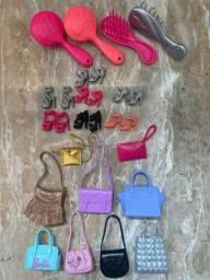 Bolsas e sapatos Barbie