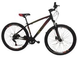 Bicicleta Aro 29 Ever Bike 24 velocidades Freio Hidraulico