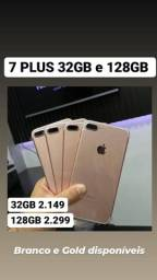 IPhone 7 Plus 128gb NOVO 100%Bateria
