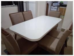 Título do anúncio: Sala dMesa e Jantar - 6 cadeiras - 100%MDF - Pronta Entrega
