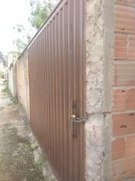 Portão chapa 18