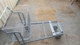Carrinho para distribuidora supermercado