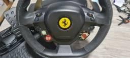 Título do anúncio: Volante thrustmaster Ferrari 458 Itália Pc e Xbox 360