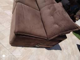 Sofá de canto retrátil e reclinável 2,80x2,20