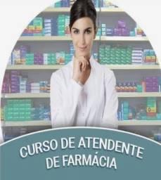 Curso de atendente de farmácia e operador de caixa