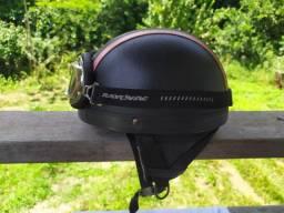 Título do anúncio: Capacete aberto para scooter quebra galho