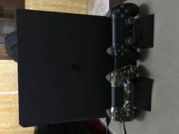Ps4 Pro 1 TB, 2 Controles Originais, 2 Jogos