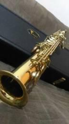 Saxofone Soprano Eagle SP 502