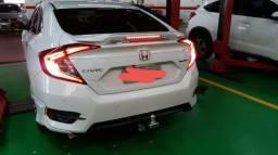 Honda Civic Touring 17/17 244cv + Acessórios - 2017