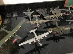 Maquete de aviões de guerra