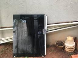 Janela de vidro 4 partes