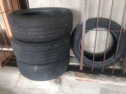 Vendo 4 pneus 205/55 r16
