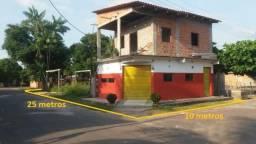 Casa- ponto comercial, dois andares, em Vila de lindóia. Ac. Carro, báu ou casa em Manaus!