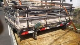 Carroceria madeira ranger cabine dupla - 2015