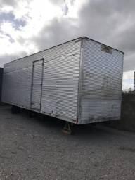 Baú furgão Aluminio 8,8t X 2,80 mt