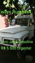 Picape Ford Wilys Rural 4x4 R$ 5.500 99136-3175
